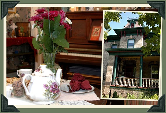 Our Wisconsin bed and breakfast offers warm hospitality