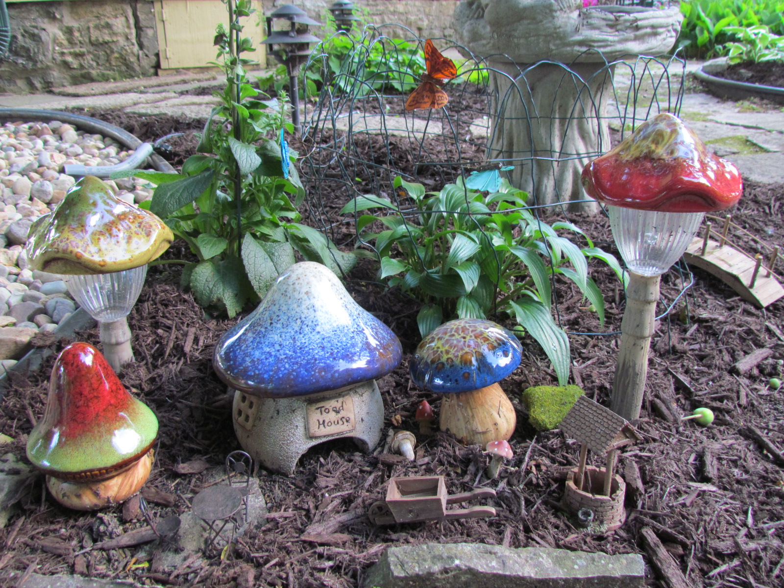 fairy gardening naeset roe inn bed and breakfast